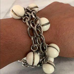 Uno De 50 Ball Charm Bracelet